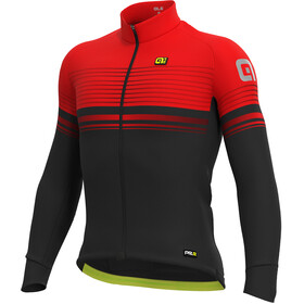 Alé Cycling Graphics PRR Slide Micro Jersey Heren, black-red